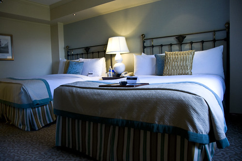 Double Queen Beds at Banff Springs Hotel