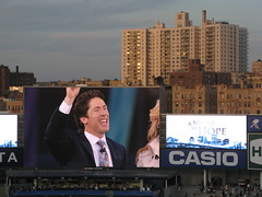 Joel Osteen at Yankee Stadium, 04/25/09 by Gary Dunaier
