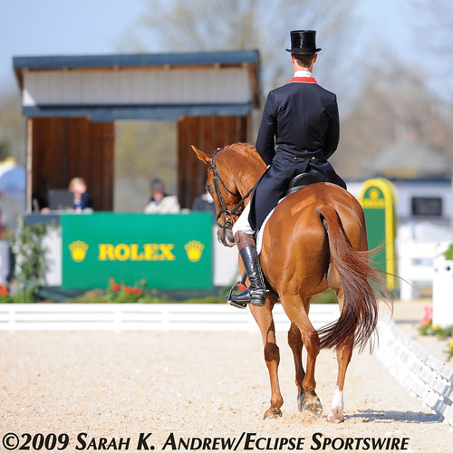 William Fox-Pitt and Navigator at Rolex 2009