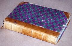 Half Leather binding