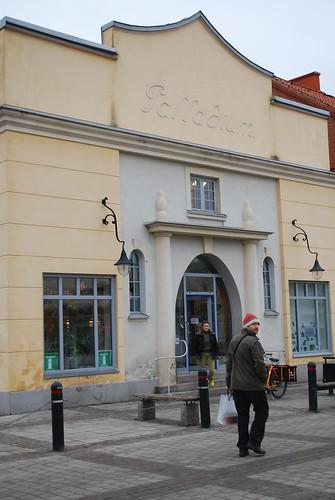 Eslöv library in the old cinema