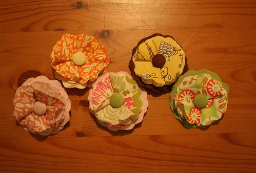 Fabric Flowers (overview)