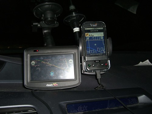Dash Express and TeleNav G1