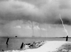Severe weather during hurricane
