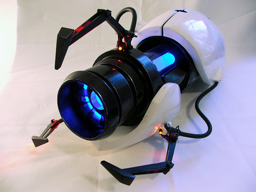 The portal gun from portal