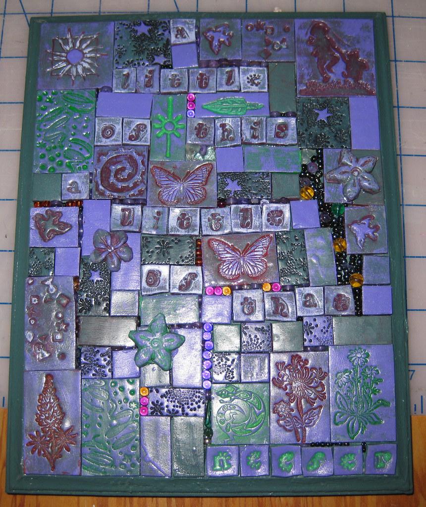 Fimo Clay Tiles