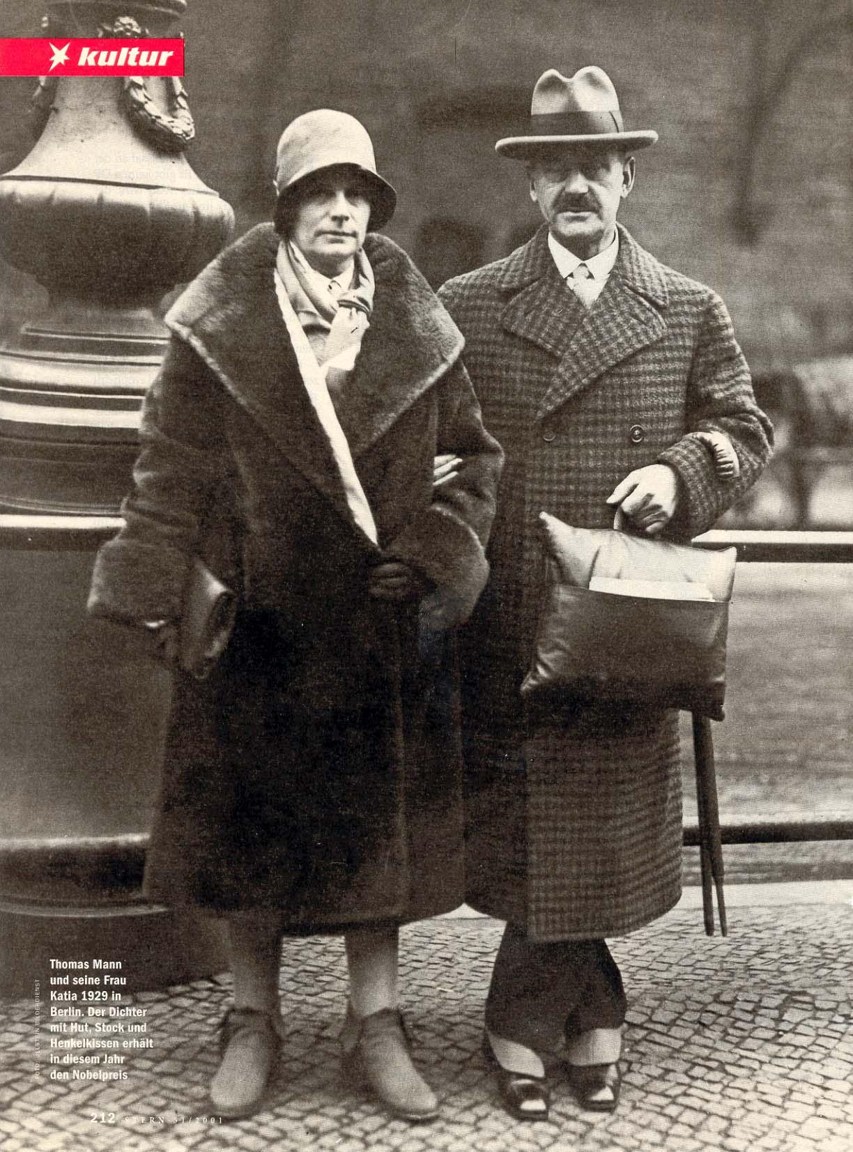 Thomas und Katia Mann 1929, Stern 51, 2001