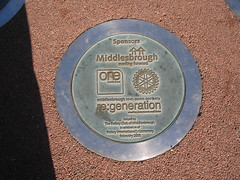 St Hildas Bells Plaque, Middlesbrough