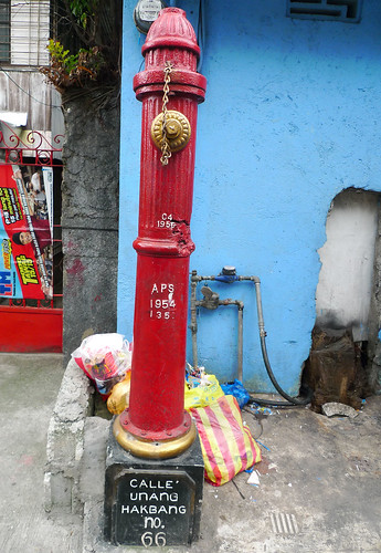 calle unang hakbang fire hydrant