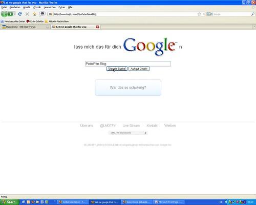 Such doch mal mit Google