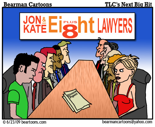 6 23 09 Bearman Cartoon John and Kate copy