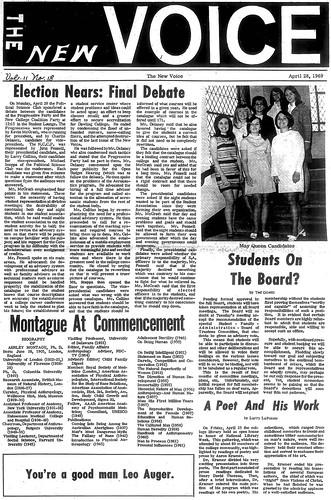 New Voice, April 28, 1969