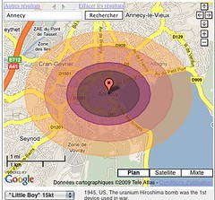 Ground Zero: Google Maps and Nuclear Weapons