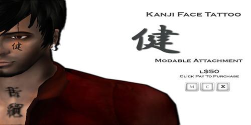 [HUZ]-Kanji Face-Advert