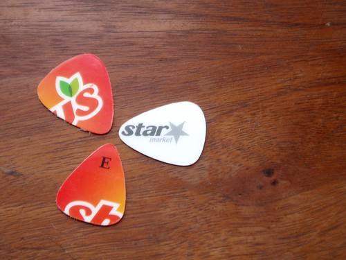 Guitar picks by you.