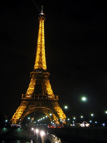 No trip to Paris is complete without a photograph of the Eiffel Tower.