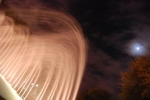 fountain at night ii by smile its shan