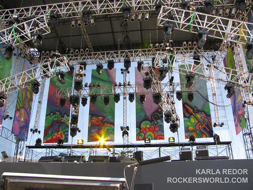 The stage at the Eraserheads Live: the Final Set