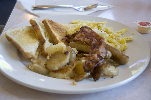 Good Value Breakfast Set at the Old Cariboo