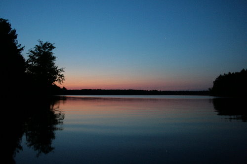 Dawn on Big Clear Lake