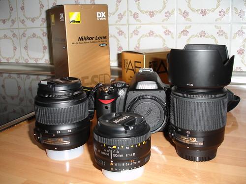 """Foto de """"la familia Nikon"""""""
