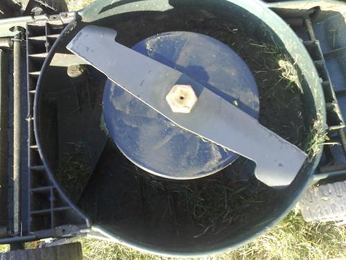 Black & Decker GR280C - blade in situ