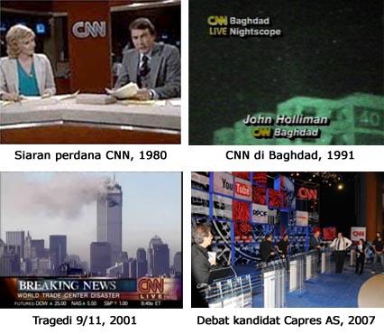 CNN, Sejarah, Profil, Berita, televisi