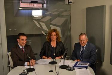Juan Carlos Lozano, Olivia Alonso y Pedro Contreras