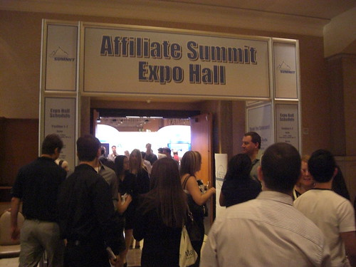Entrance to the Affiliate Summit Exhibit Hall