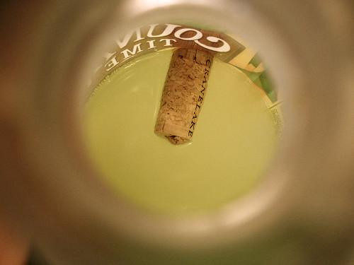 cork in the lemonade