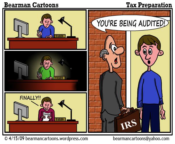 4 6 09 Bearman Cartoon Tax Preparation