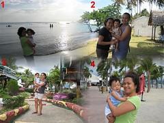 1. Munting Buhaning, Nasugbu 2. Balulan, Manapla, Neg. Occ. 3. Resort somewhere in Bitin Bay, Laguna 4. Subic Park Hotel
