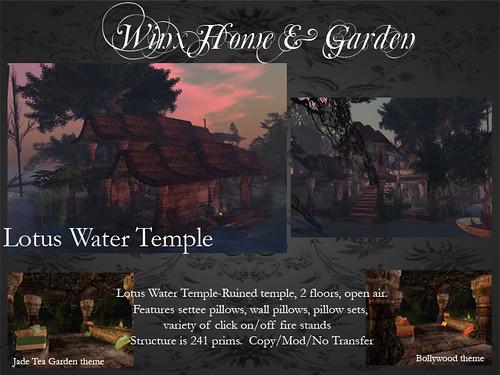 Lotus Water Temple
