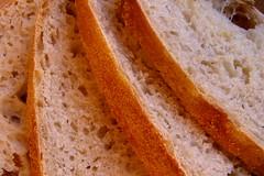 Sourdough sliced