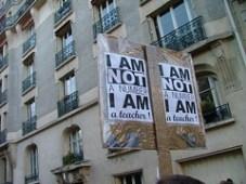 Pancarte Charles V - Manifestation Parisienne
