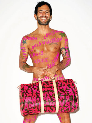 Marc Jacobs thinks he's Sagmeister