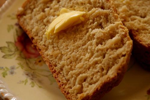 Sunday: Freshly baked bread