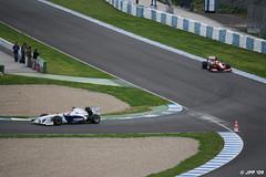 Robert Kubica (BMW Sauber) y Felipe Massa (Ferrari)