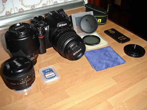 Lo que hay habitualmente en mi bolsa de fotografía