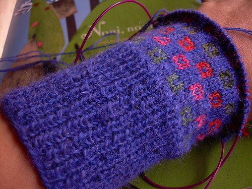 Klein yarn for mitts