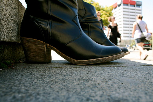 Wednesday: Boots in the Sun