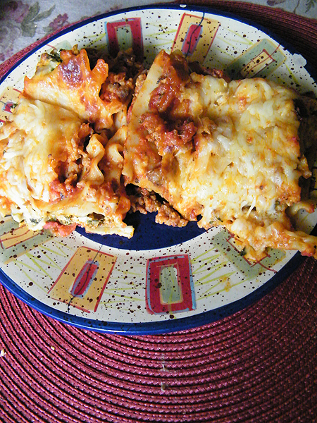 I also call this THE ULTIMATE LASAGNA in my Flickr, okay.