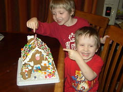 ian & aiden gingerbread