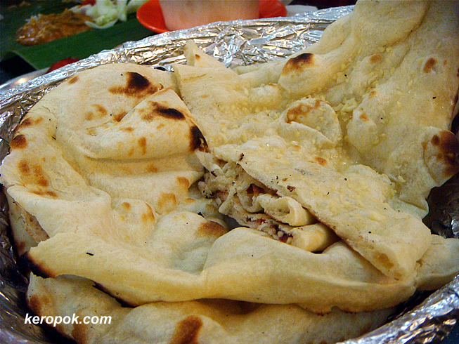 5 diff types of Naan