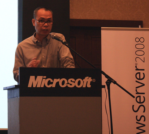 Boy Bawal of Microsoft Philippines