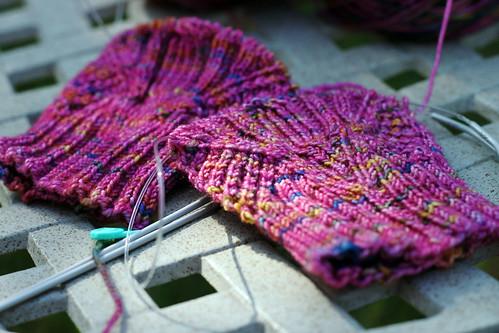 Pink-Sock-Start
