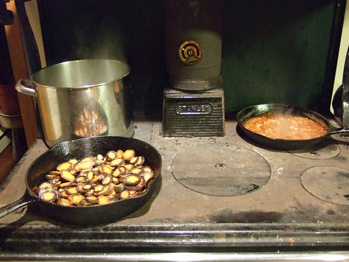 Cooking on the Woodstove