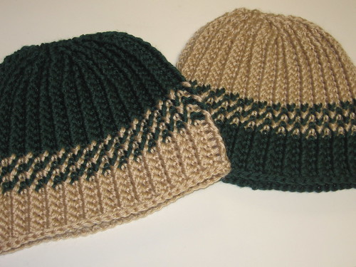 * I really like these!  They dont even really look like crochet, either.