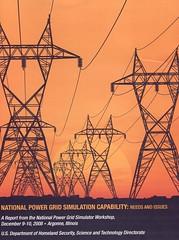 National Power Grid Simulation Capability