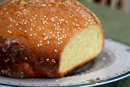 Cornmeal-Sesame Bread